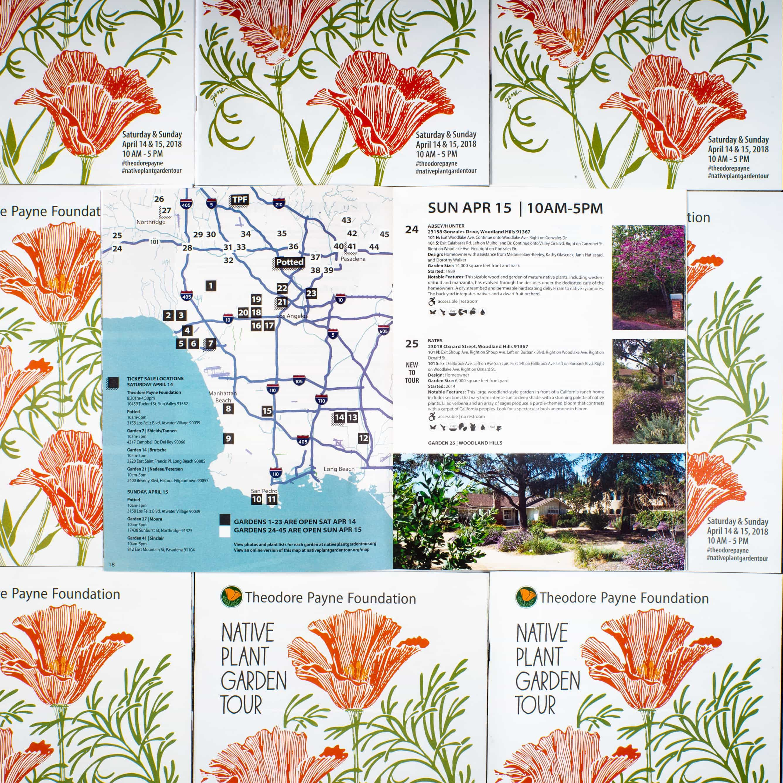2018 Theodore Payne Foundation Garden Tour Guide Photo